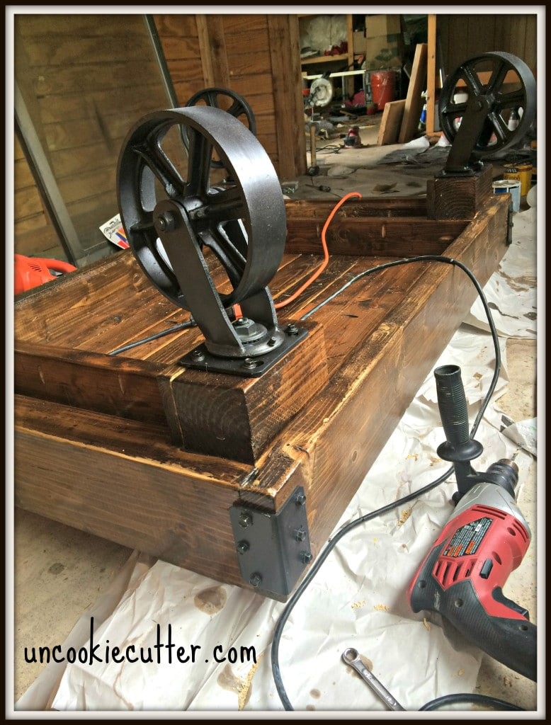 Industrial Coffee Table Build - Uncookiecutter.com