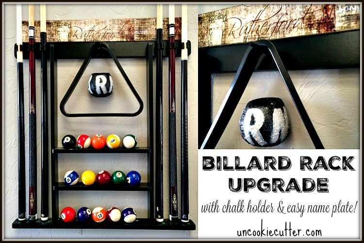 Pool Rack Upgrade and July Create and Share Challenge - Uncookiecutter.com