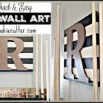 DIY Wall Art Flip Flop