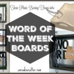 Conversation Starter Boards and September Create and Share Challenge