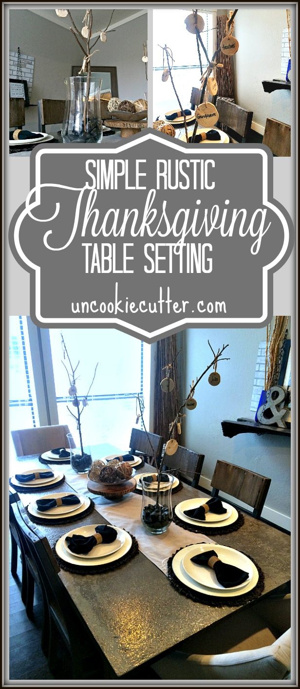 Simple Thanksgiving Table Setting November Create And