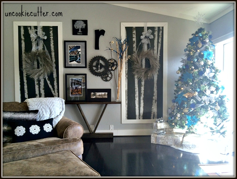 Christmas Holiday Home Tour 2015 and Linkup - UncookieCutter.com