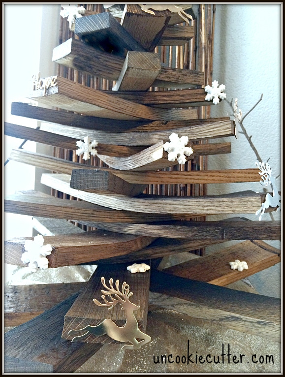 Wine Barrel Christmas Tree - UncookieCutter.com