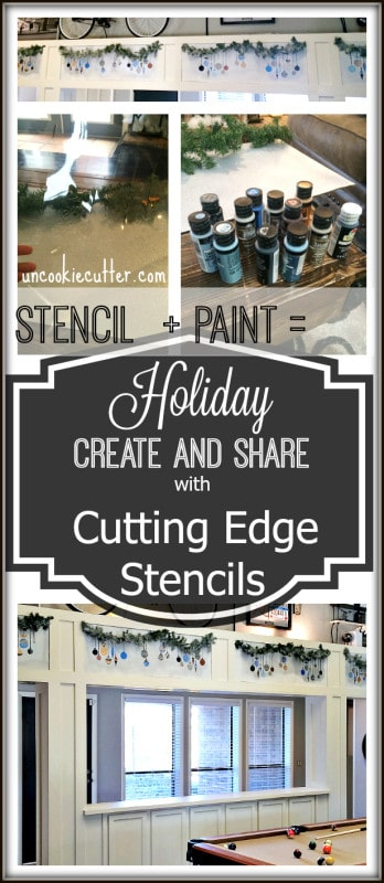 Holiday Create and Share with Cutting Edge Stencils - UncookieCutter