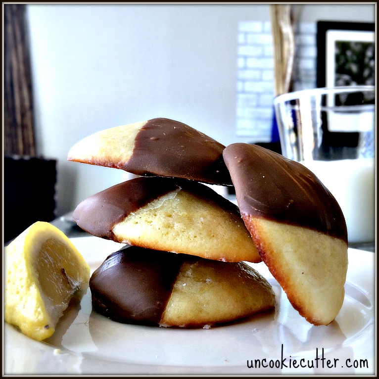 This weeks feature recipe from Baking for Blessings were these amazing Chocolate Lemon Cookies. Come link up and join the party! UncookieCutter.com