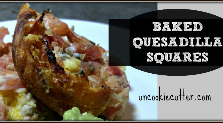 Baked Quesadilla Squares - You Link It, We Make It #5