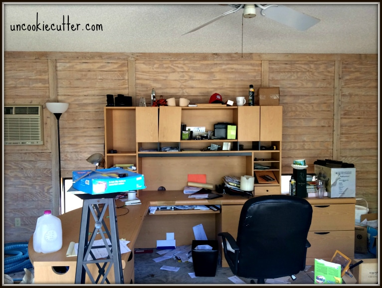 Office Makeover - One Room Challenge - Spring 2016 - UncookieCutter.com