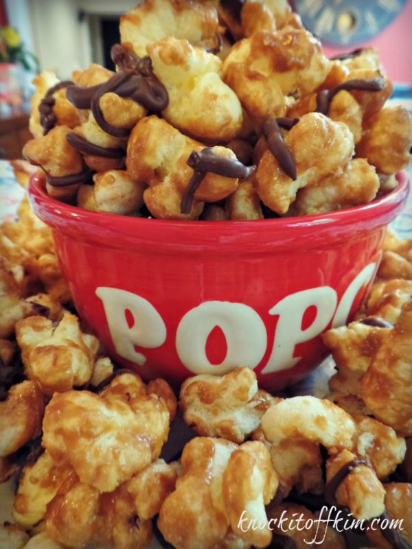 Carmel Puff Popcorn - Knock it Off Kim