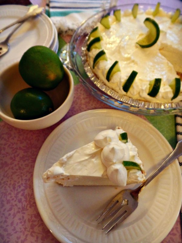 No Bake Key Lime Pie - Knock it Off Kim