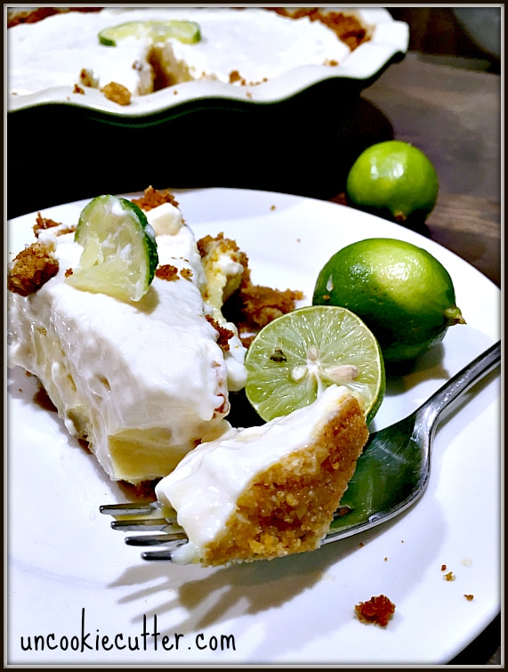 Key Lime Pie - Uncookie Cutter