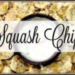 Squash Chips – You Link It, We Make It #22