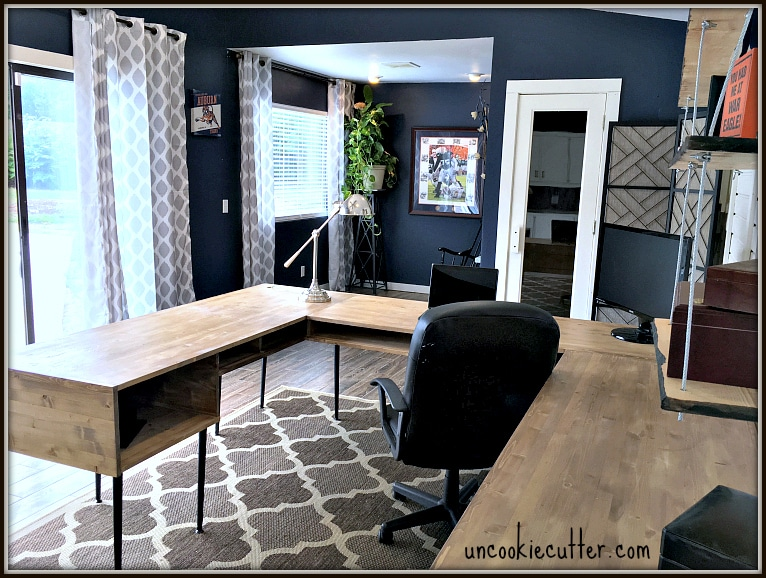 Modern Desk DIY - Uncookie Cutter