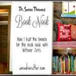 Dr. Suess Themed Book Nook – Bench