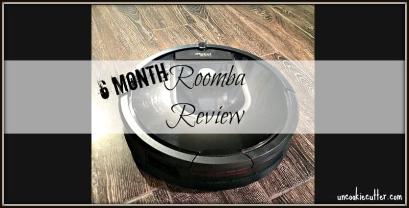 Roomba Review - I bought a Roomba 6 months ago to help clean my dark hardwood floor. This is my honest review with pros and cons listed. UncookieCutter.com