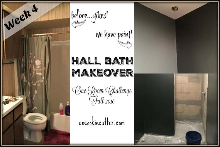 Hall Bath Makeover - One Room Challenge - Week 4 - 12 Inspirational Mini Pendants - UncookieCutter.com