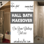 Hall Bathroom Makeover – ORC Week 2