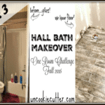 Hall Bath Makeover – One Room Challenge Week 3