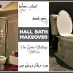 Hall Bath Makeover – ORC Week 5