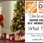 Home Depot DIY Workshops – Holiday Stocking Post