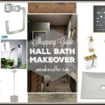 Bath Shopping Guide – Hall Bathroom Makeover