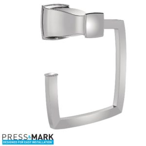 Moen Hensley Collection - Hand Towel Holder - Bath Shopping Guide - Hall Bath Makeover - UncookieCutter.com