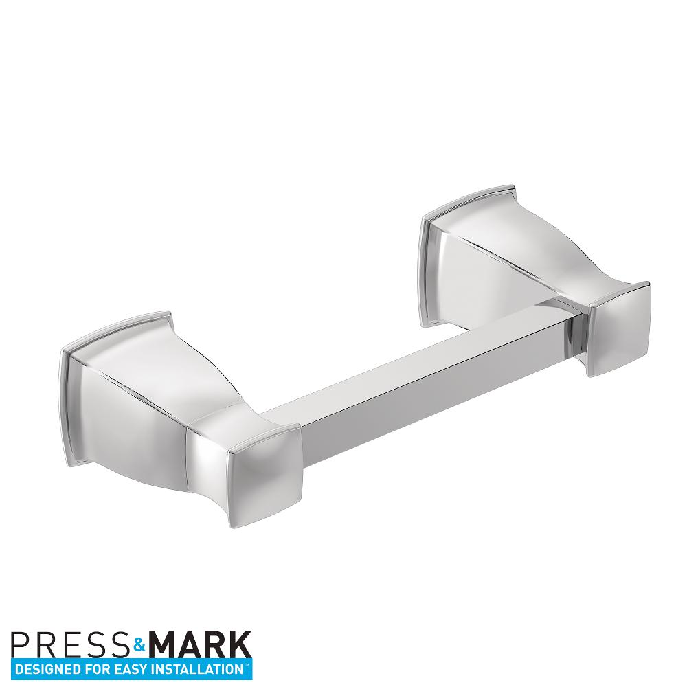 Moen Hensley Collection - Toilet Paper Holder - Bath Shopping Guide - Hall Bath Makeover - UncookieCutter.com