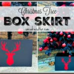 Tree Stand Boxes – Silhouette Monthly Challenge