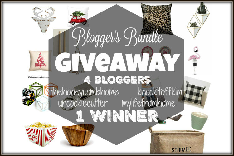 Blogger's Bundle Giveaway! 4 bloggers collect their favorite items to send to ONE winner! UncookieCutter.com