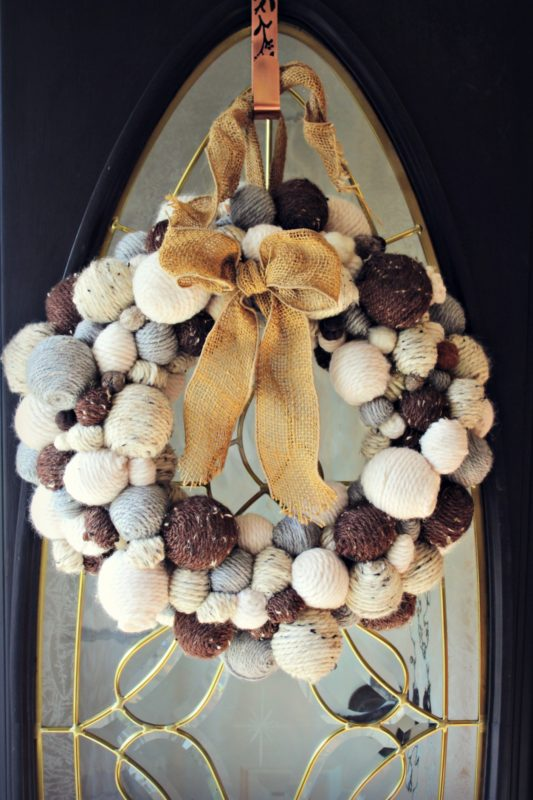 Knock it Off Kim - Winter Ball Wreath