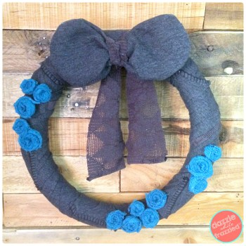 Dazzle While Frazzled - Sweater Winter Wreath