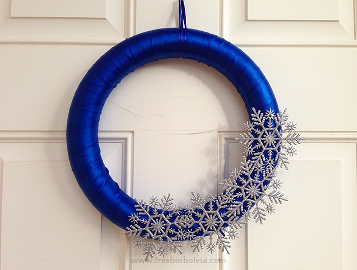 Free Borboleta - Winter Wreath