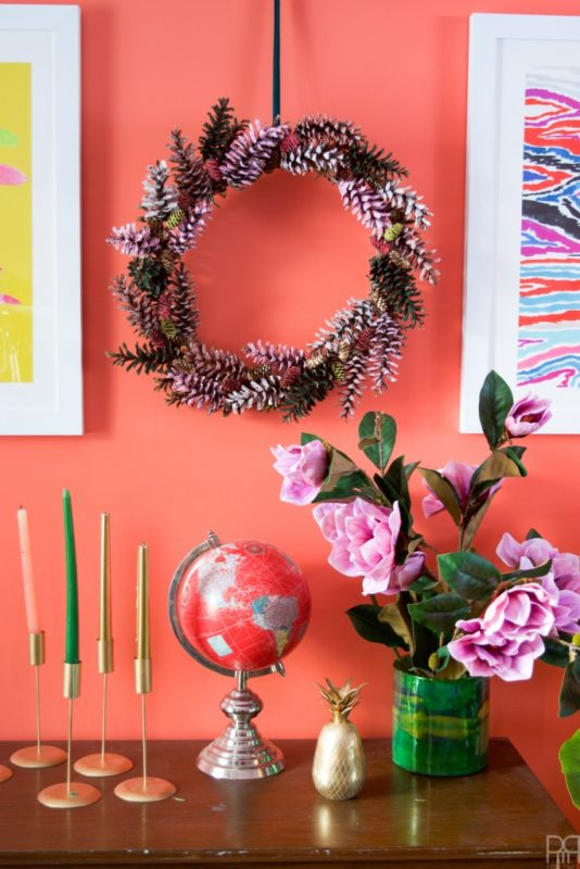 PMQ for Two - Pinecone Wreath
