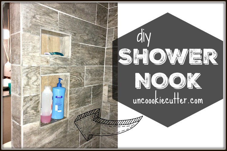 Shower Nook – How I Added a Niche in Our New Shower
