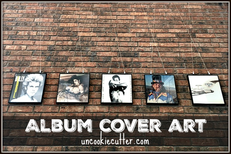 Album Cover Wall Art - UncookieCutter.com