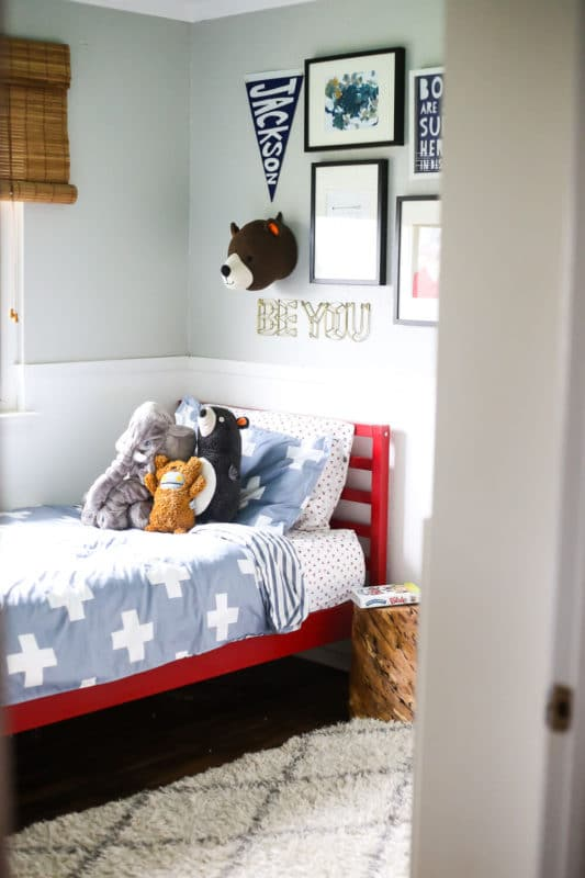 Big Kid Room Makeover - Love & Renovations