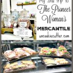If you love the Pioneer woman recipe, you'll have to take a visit he Mercantile store and bakery. Get details on our lunch and snack and take a look at that amazing bathroom decor!