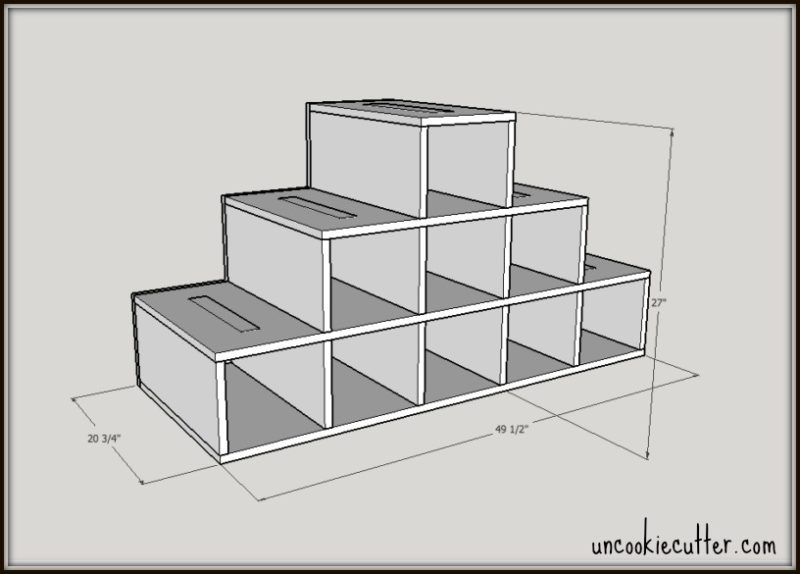 display stand diy - build your own with my free plans