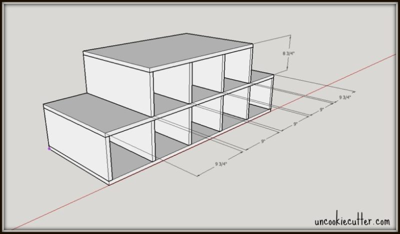 How to build your own display stand using plywood - Free Plans! - UncookieCutter.com