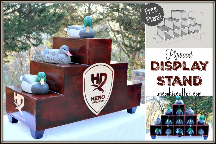 Display Stand DIY – Build Your Own with My Free Plans!