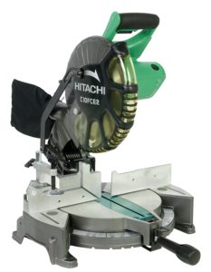 Hitachi 10-inch Single Bevel Compound Miter Saw