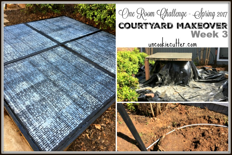 Courtyard Makeover – Spring 2017 One Room Challenge – Week 3