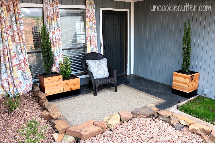 Courtyard Reveal - One Room Challenge Spring 2017 Final Reveal! - UncookieCutter.com
