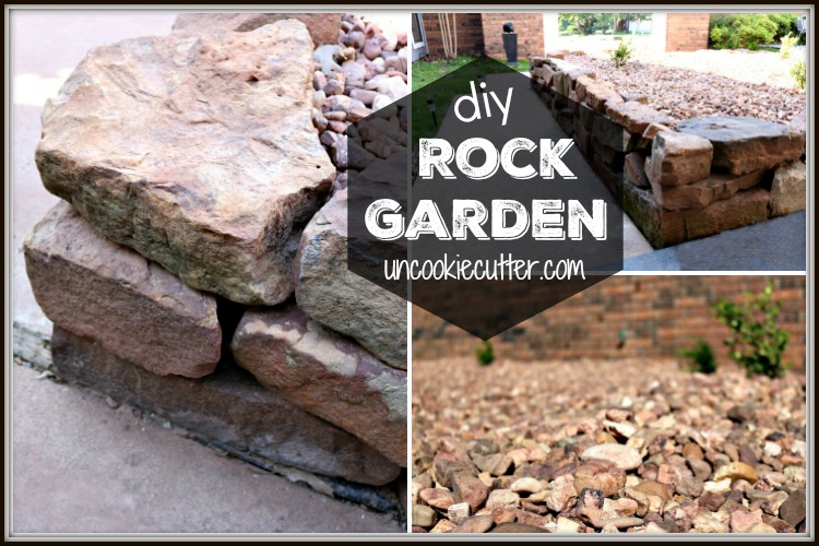 How We DIY'ed Our Rock Garden