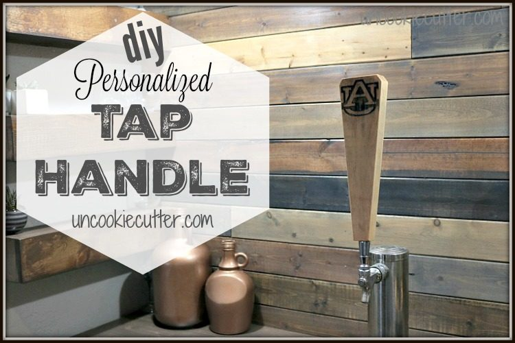 Personalized Tap Handle - May Silhouette Challenge