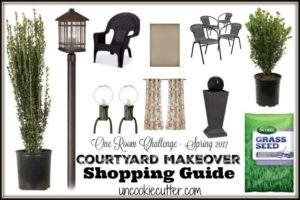 Courtyard Shopping Guide - UncookieCutter.com