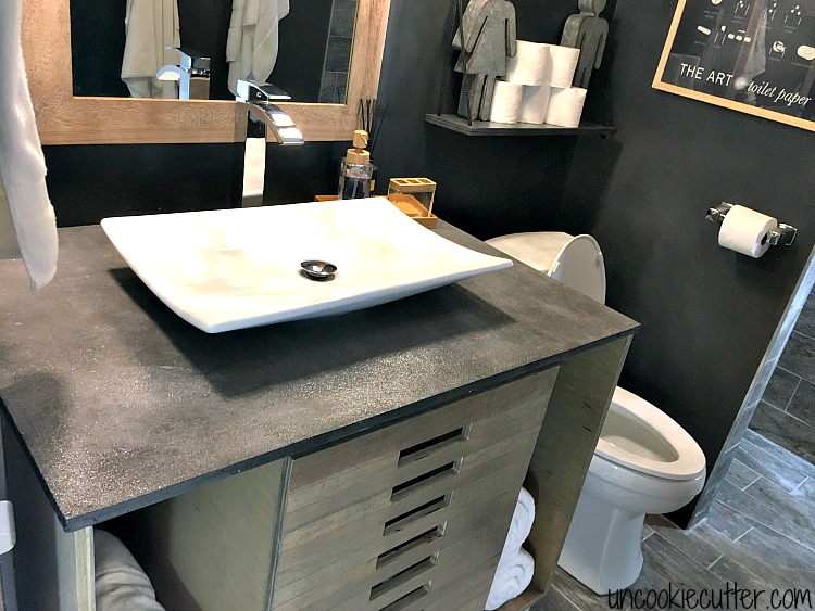 Super Vanity Top Made From Concrete Diy For Less Uncookie Cutter Download Free Architecture Designs Xerocsunscenecom
