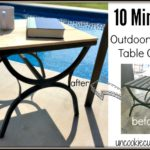 Outdoor Table Cover – 10 Min June DIY