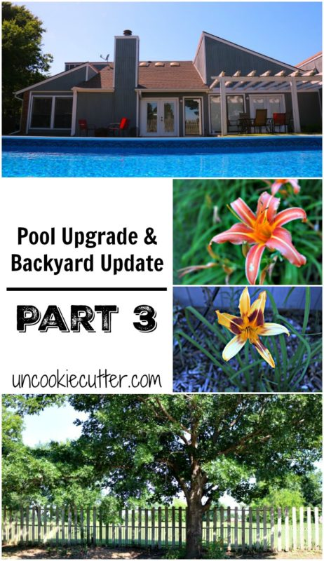 Pool Upgrade & Backyard Update - Part 3 - UncookieCutter.com