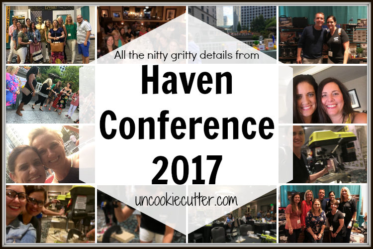 Haven Conference is one of my very favorite parts of blogging and I am sharing all the nitty gritty details from Atlanta. - UncookieCutter.com