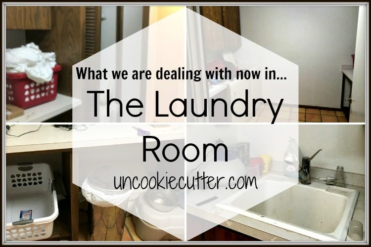 The Laundry Room...Where We Are Now